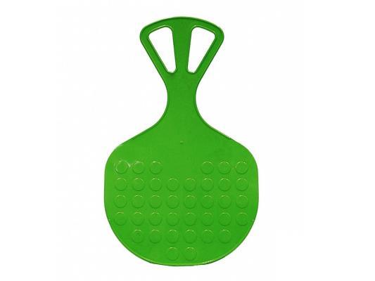 Ледянка RT №3 большая до 80 кг зеленый пластик 4927 санки ледянка пластик снежный гонщик до 40 кг пластик
