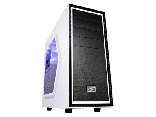 Корпус ATX Deepcool Tesseract SW White Без БП белый