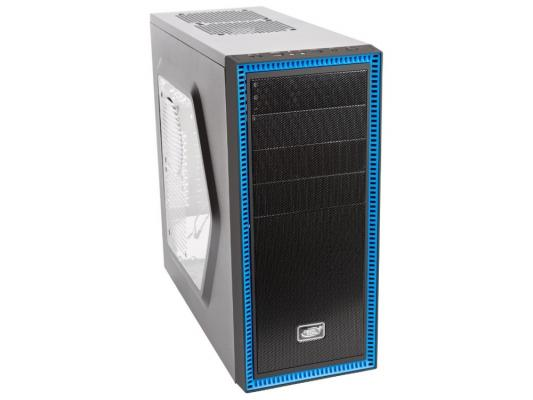 Корпус ATX Deepcool Tesseract SW Без БП чёрный DP-CCATX-TSRBKBL tesseract sw red