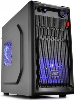 Корпус mATX Deepcool Smarter LED Без БП чёрный
