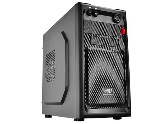 Корпус mATX Deepcool Smarter Без БП чёрный корпус microatx deepcool smarter без бп чёрный