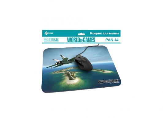 Коврик для мыши KREOLZ PAN-14 Jet Plane