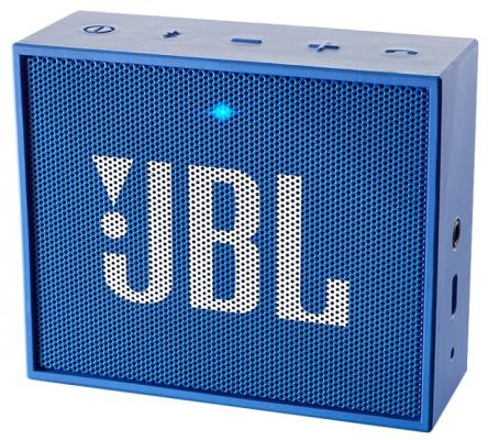 Портативная акустика JBL GO синий JBLGoBlue портативная акустика jbl go бирюзовая jblgoteal