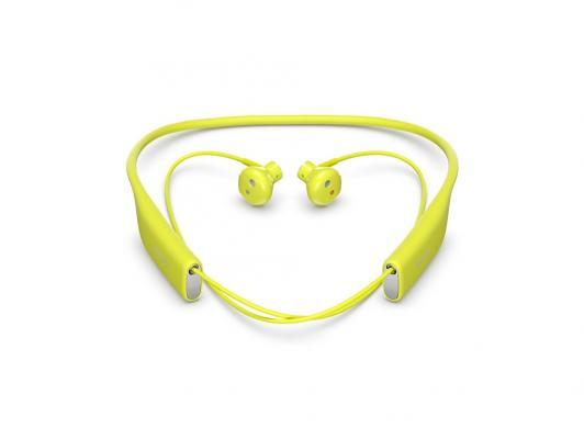 Bluetooth-гарнитура SONY SBH70 лайм