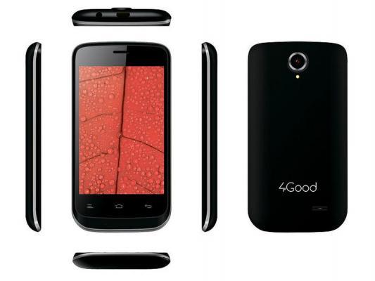 """Смартфон 4Good S350M черный 3.5"""" 512 Мб GPS Wi-Fi"""