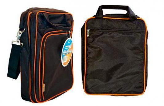 Сумка для ноутбука 14.1 Kreolz B252B нейлон черно-оранжевый