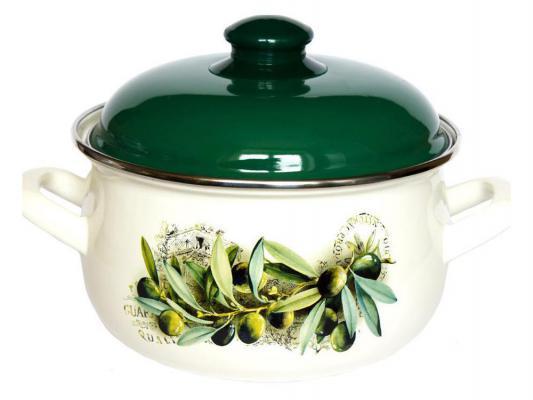 Кастрюля Interos 15231 Маслины 4,0 л набор посуды interos 15231 маслины