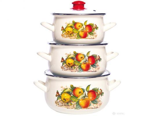Набор посуды Interos 15199 Яблоки