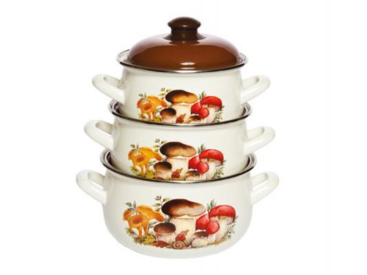 Набор посуды Interos 15251 Грибы
