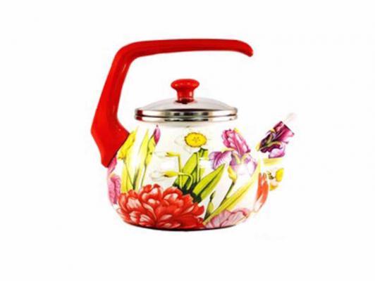 Чайник INTEROS 14928 2.2 л нержавеющая сталь рисунок чайник kitchenaid kten20sbob чёрный 1 9 л нержавеющая сталь
