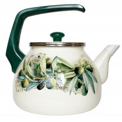 Чайник INTEROS 15231 рисунок 3 л нержавеющая сталь набор посуды interos 15231 маслины