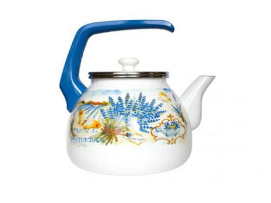 Чайник INTEROS 15248 3 л нержавеющая сталь рисунок чайник kitchenaid kten20sbob чёрный 1 9 л нержавеющая сталь