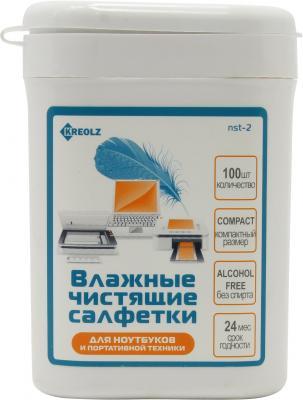Влажные салфетки Kreolz NST-2 100 шт