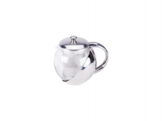 Чайник заварочный Zeidan Z-4102 0.5 л пластик/стекло серебристый