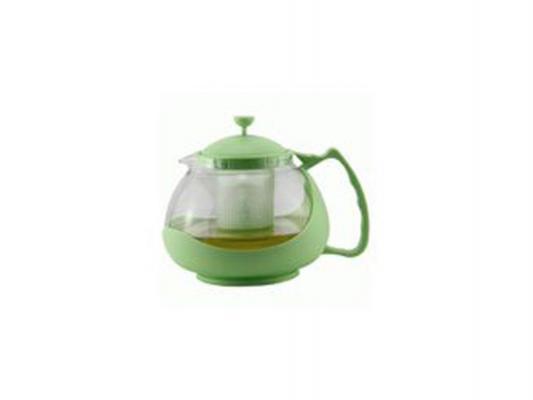 Чайник заварочный Zeidan Z-4105 зелёный 1.1 л пластик/стекло