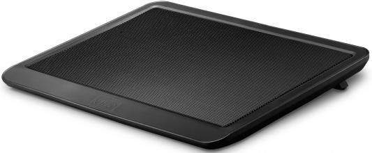 Подставка для ноутбука 14 Deepcool N19 330x250x24mm 1xUSB 530g 21dB черный подставка для ноутбука 14 deepcool n17 330x250x25mm 1xusb 465g 21db синий