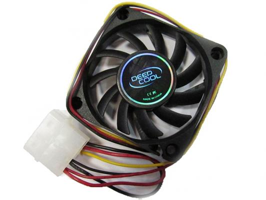 Вентилятор Deepcool XFAN L/Y 120x120x25 3pin 26dB 1300rpm 119g желтый LED