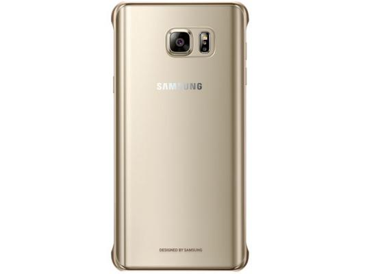Купить со скидкой Чехол Samsung EF-QN920CFEGRU для Samsung Galaxy Note 5 СlCover золотистый
