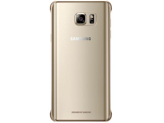 Чехол Samsung EF-QN920MFEGRU для Samsung Galaxy Note 5 GloCover золотистый чехол для samsung galaxy note 5 n920 samsung glossycover золотистый