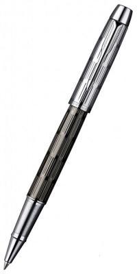Ручка-роллер Parker IM Premium T222 Twin Chiselled черный F S0908600
