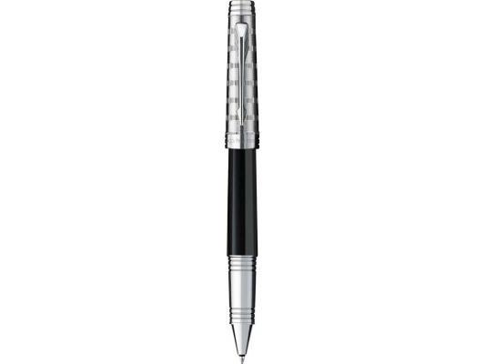 Шариковая ручка роллер Parker Premier Custom T561 Tartan ST черный F S0887910