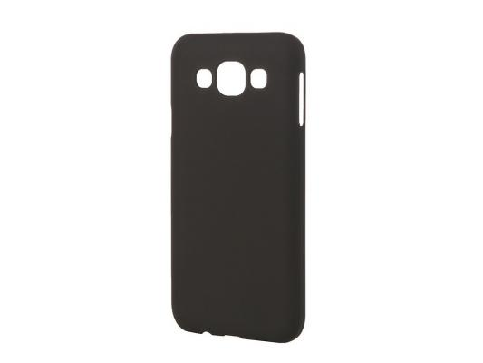Чехол-накладка Pulsar CLIPCASE PC Soft-Touch для Samsung Galaxy E5 SM-E500F/DS (черная) РСС0014