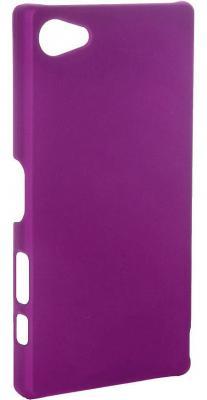 купить Чехол-накладка Pulsar CLIPCASE PC Soft-Touch для Sony Z5 Compact (фиолетовая) РСС0140 онлайн