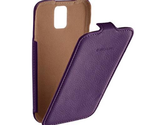 Чехол-флип PULSAR SHELLCASE для Sony Xperia Z5 premium (фиолетовый) PSC0804