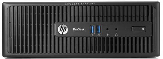 HP ProDesk 400 i5-4590S 3.0GHz 4Gb 1Tb HD 4600 DVD-RW Win7Pro Win10 k/b +mouse черный N9F14EA