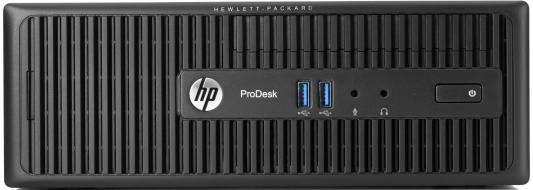 Системный блок HP ProDesk 400 i3-4170 3.7GHz 4Gb 1Tb HD 4600 DVD-RW Win7Pro Win10 клавиатура мышь черный N9F13EA