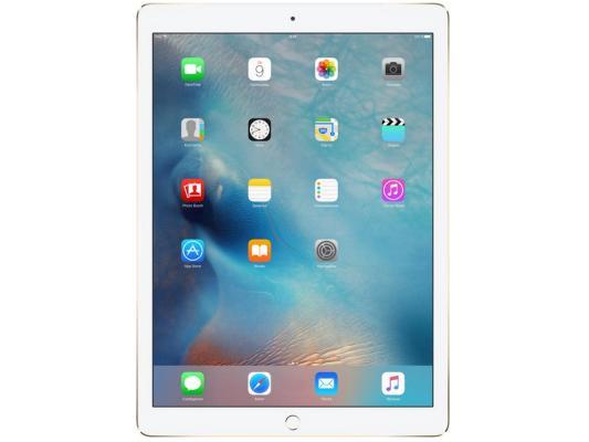 Планшет Apple iPad Pro 12.9 128Gb золотистый LTE Wi-Fi 3G Bluetooth ML2K2RU/A чехол apple leather sleeve для ipad pro 10 5 платиново серый mpu02zm a