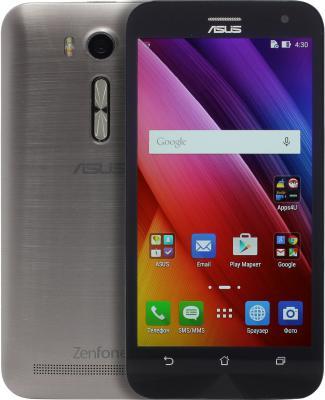 "Смартфон ASUS Zenfone 2 Laser ZE500KG серебристый 5"" 8 Гб Wi-Fi GPS 90AZ00RA-M00710"