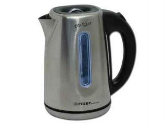 Чайник First FA-5411-5 2200 Вт серебристый 1.8 л металл