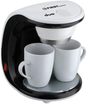 Кофеварка First FA-5453-2 белый coffee maker first fa 5453 2 white black