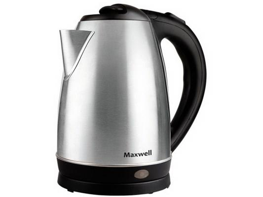 Чайник Maxwell MW-1055 ST 2200 серебристый 1.8 л металл