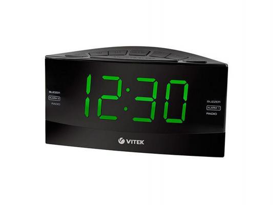 Часы с радиоприёмником Vitek VT-6603BK