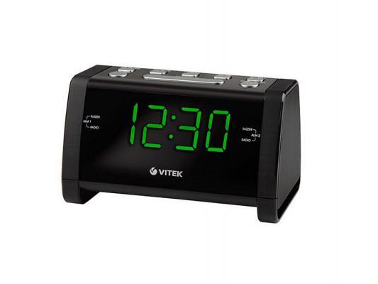 Часы с радиоприёмником Vitek VT-6608BK