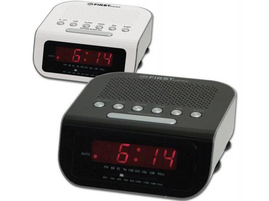 Часы с радиоприёмником First 2406-1 чёрный