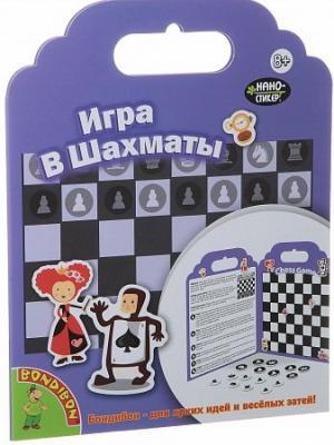 Купить Настольная игра Bondibon шахматы Нано-стикер Игра в Шахматы TP-P10