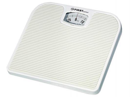 Весы напольные First 8020 белый first fa 8020 white весы напольные