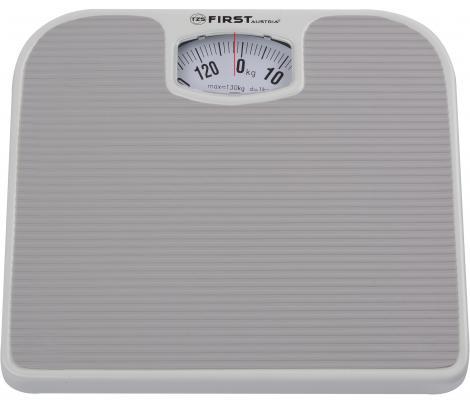 Весы напольные First FA-8020 серый весы напольные first fa 8006 1