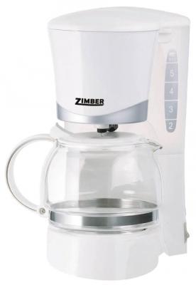 Кофеварка Zimber ZM-10687 белый