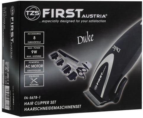 Машинка для стрижки волос First 5678-1 синий