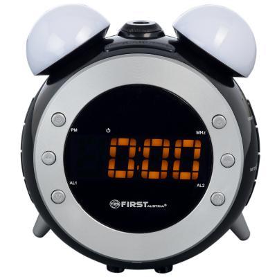 Часы с радиоприёмником First 2421-4 серый