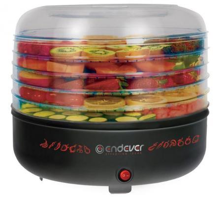 Сушка для овощей и фруктов Endever Skyline FD-57 360Вт черный