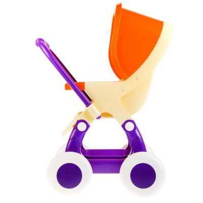 Купить Коляска для кукол Полесье Прогулочная 4-х колёсная 48134, ПОЛЕСЬЕ, Аксессуары для кукол
