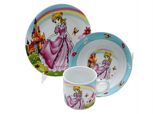 Набор посуды Mayer&Boch Принцесса 23392 3 предмета детский