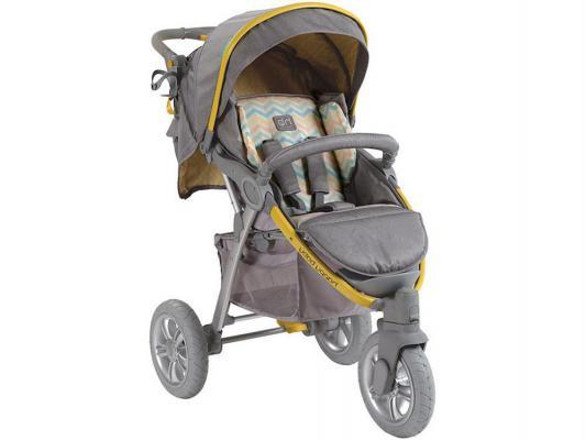 Коляска прогулочная Happy Baby Neon Sport (yellow)