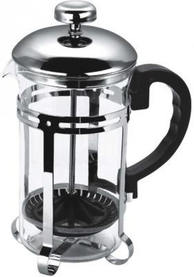 Чайник заварочный Bekker BK-317 серебристый 0.35 л металл/стекло