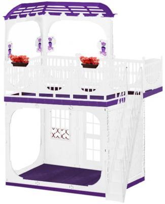 Дом для кукол Огонек Конфетти С-1334 игрушечная столовая для кукол огонек конфетти